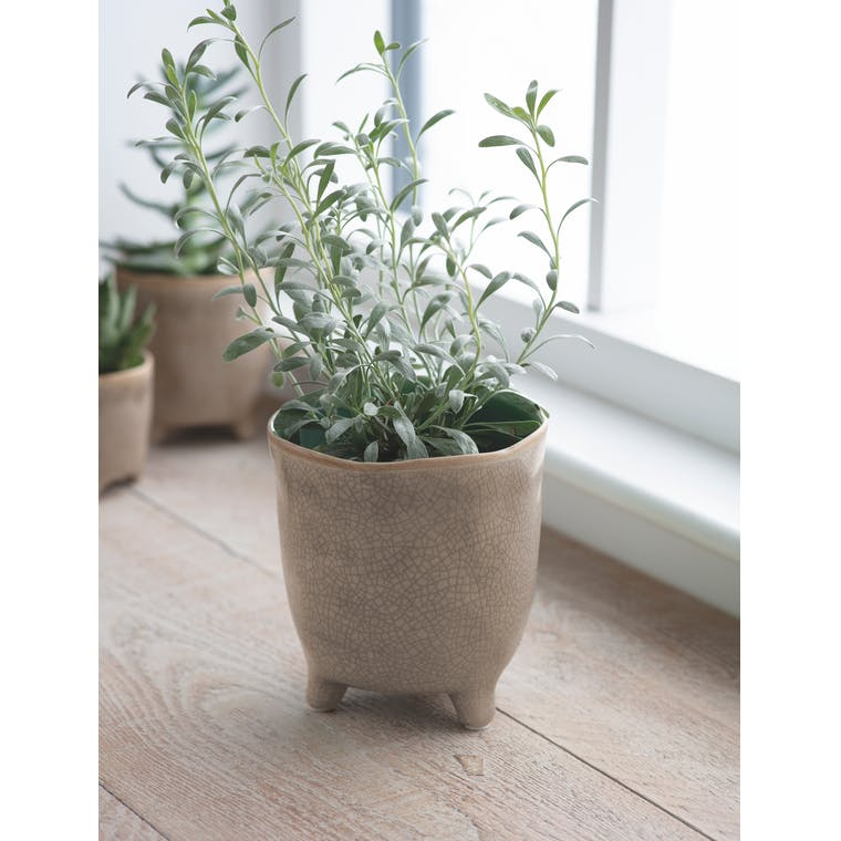 Garden Trading Positano Pot, Large in Stone - Ceramic