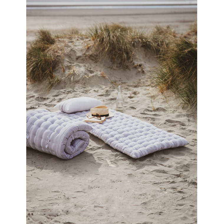 Roll Out Bed in Earl Grey Stripe by Garden Trading