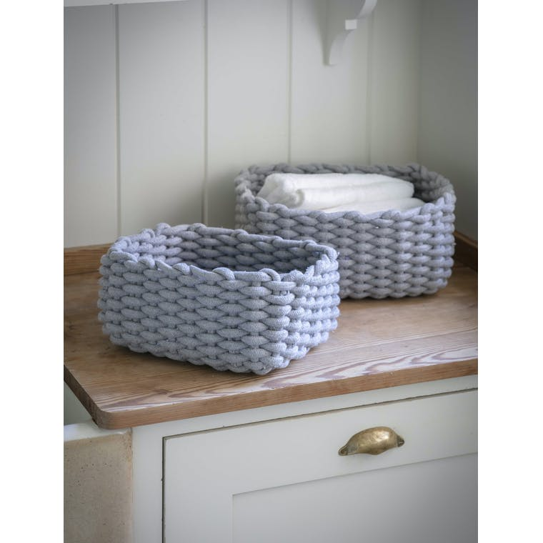 Garden Trading Set of 2 Chesil Rectangular Baskets