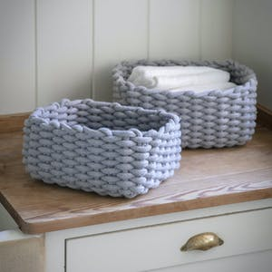 Set of 2 Chesil Rectangular Baskets