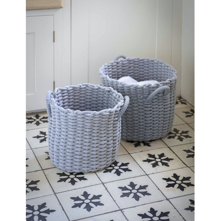 Garden Trading Set of 2 Chesil Round Baskets