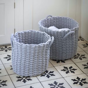 Set of 2 Chesil Round Baskets