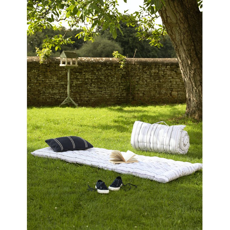 Roll Out Bed in Earl Orchard Stripe by Garden Trading