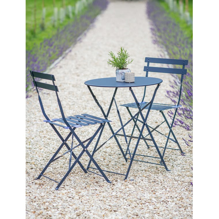 Rive Droite Bistro Set, Small in Ink by Garden Trading