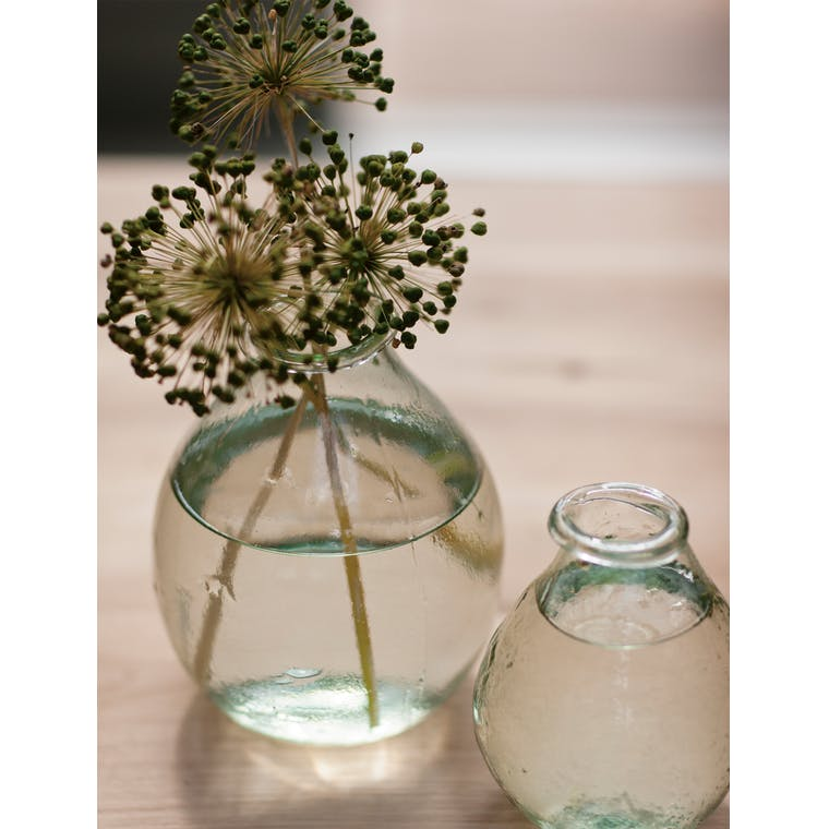 Recycled Glass Vase in Small, Large or Extra Large  | Garden Trading