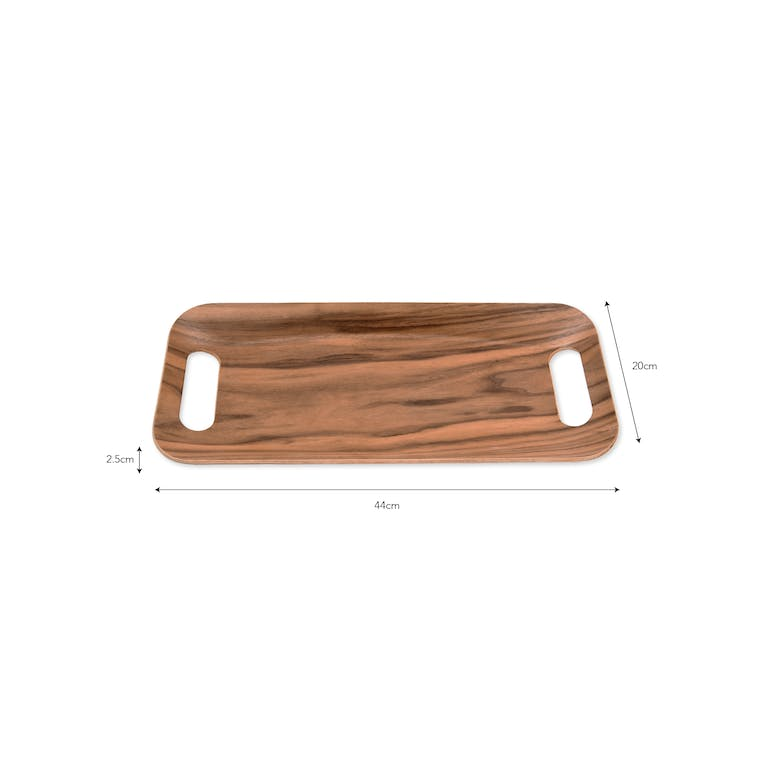 Wooden Brook Tray in Square or Rectangular | Garden Trading