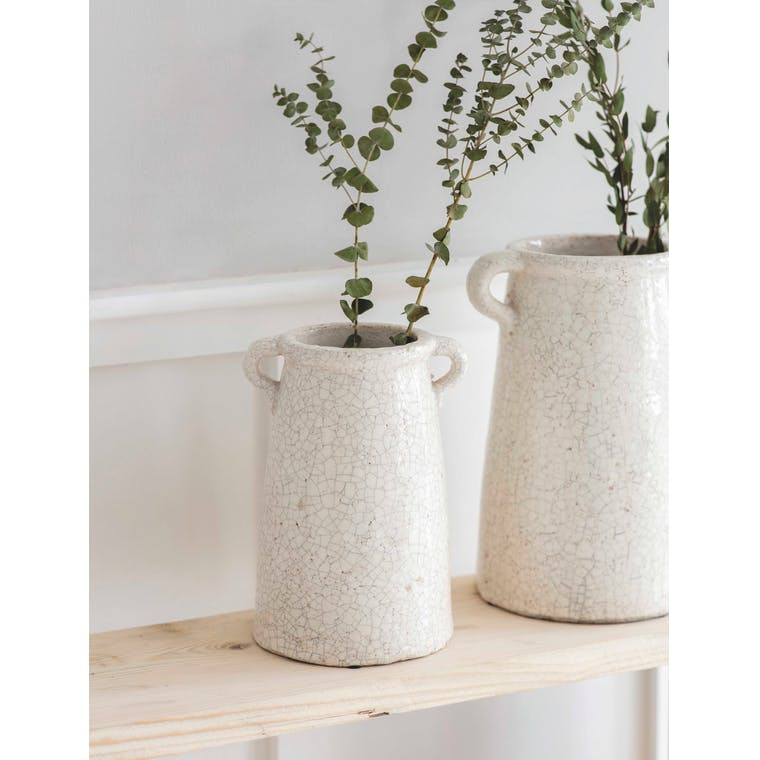 Ceramic Ravello Vase in Small or Large | Garden Trading