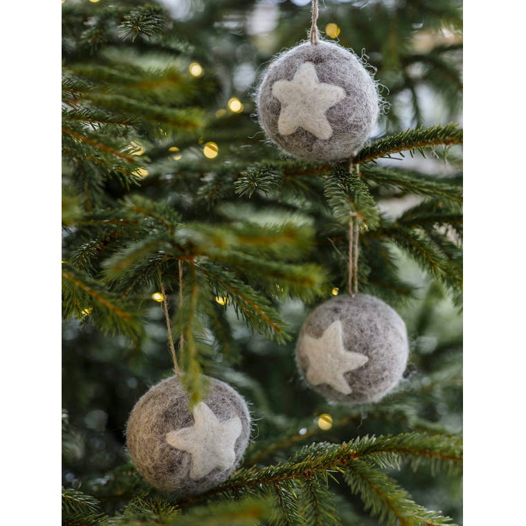 Garden Trading Set of 3 Southwold Baubles
