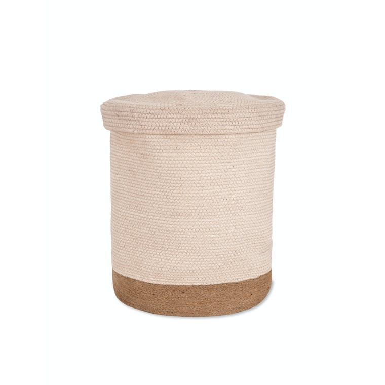 Jute Storage Basket in Set of 2, Medium or Large | Garden Trading