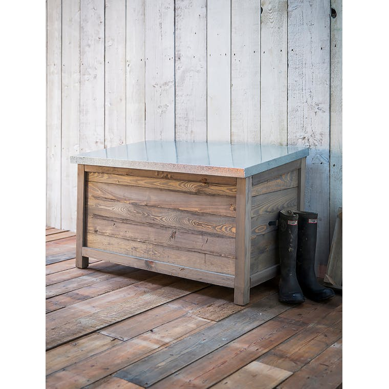 Wooden Outdoor Storage Box in Small or Large  | Garden Trading