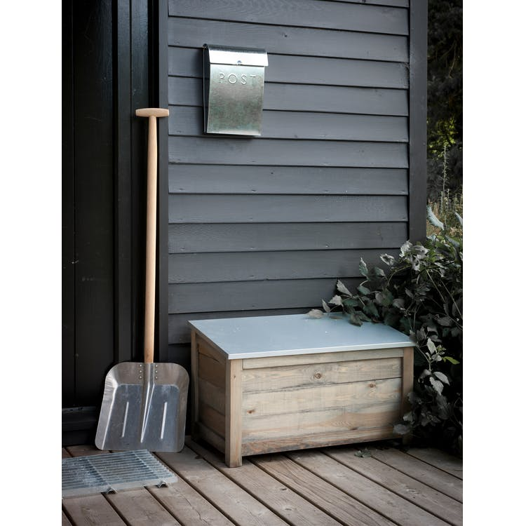 Wooden Aldsworth Outdoor Storage Box In Small Or Large Garden Trading