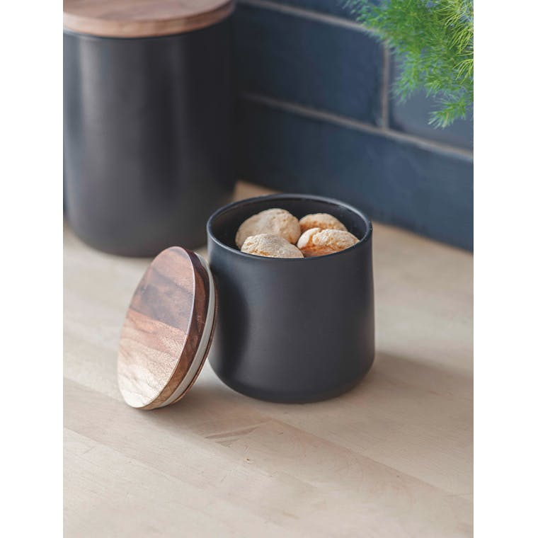 Steel Brook Canister in Small or Large | Garden Trading