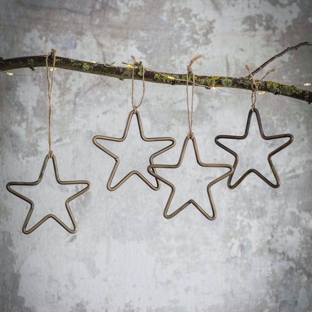 Set of 4 Cromwell Stars