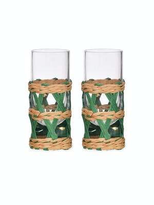 Pair of Portmore Shot Glasses