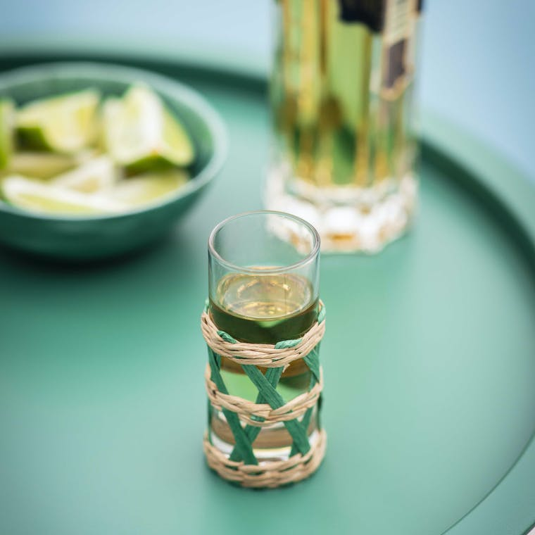 Glass Pair of Portmore Shot Glasses | Garden Trading