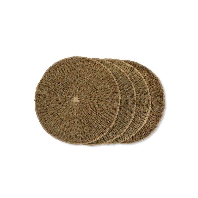 Seagrass Set of 4 Placemats | Garden Trading