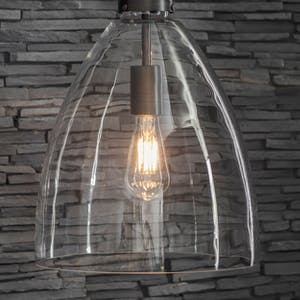 Replacement Glass Shade for Hoxton Bullet Pendant Light