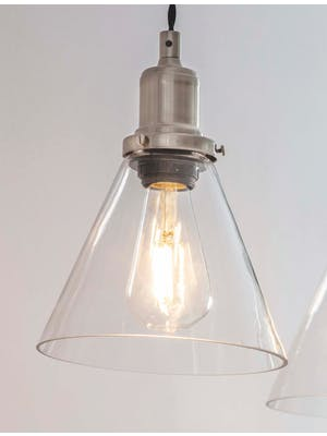 Replacement Glass Shade for Hoxton Cone Lights