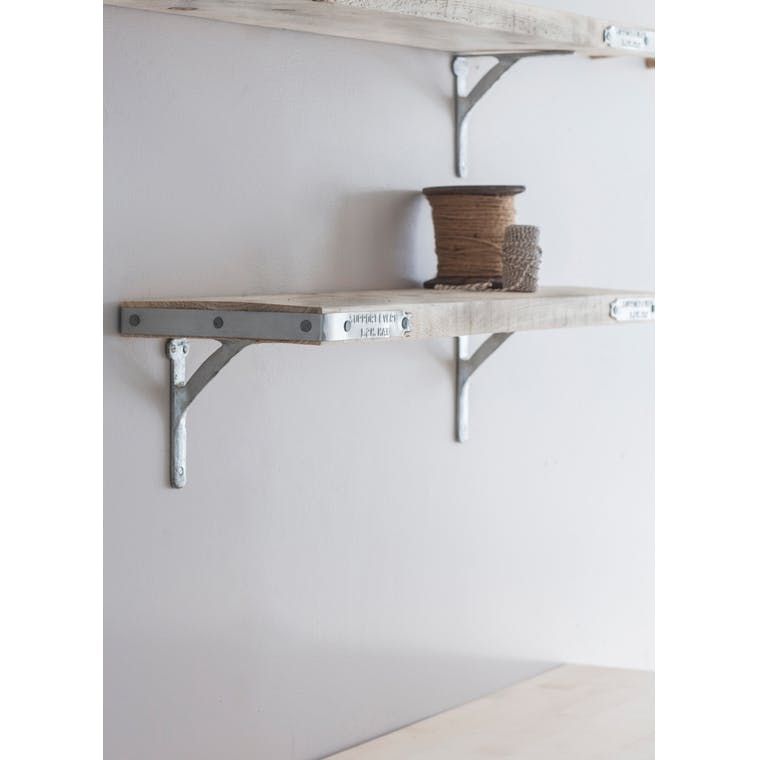 Wooden RAW Scaffold Shelf with Brackets in Small or Large | Garden Trading