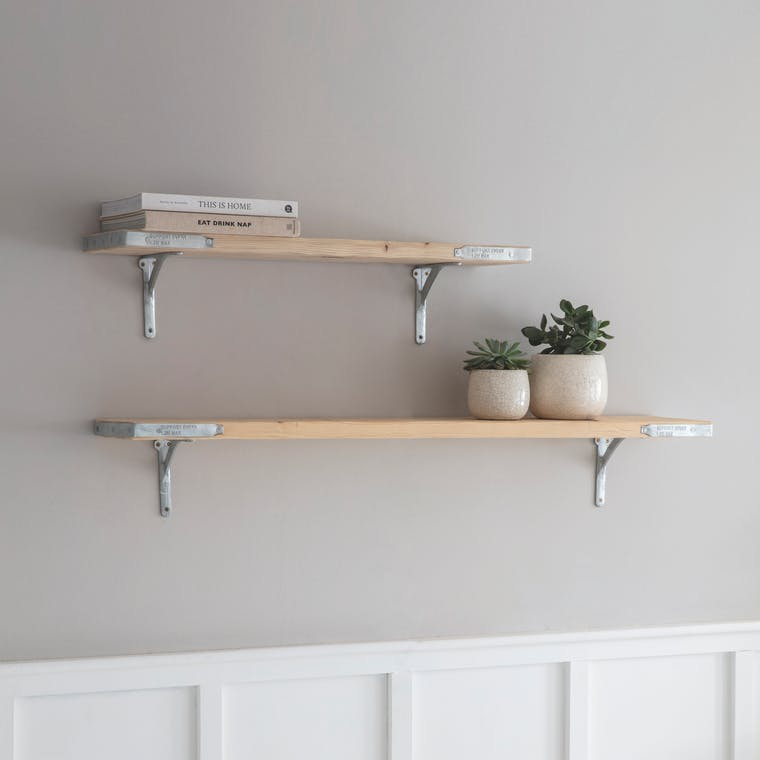 Wooden RAW Scaffold Shelf in Small or Large | Garden Trading