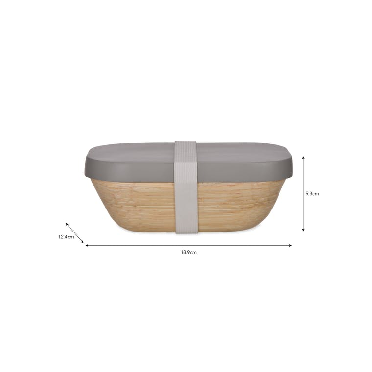 Bamboo Purbeck Snack Box | Garden Trading