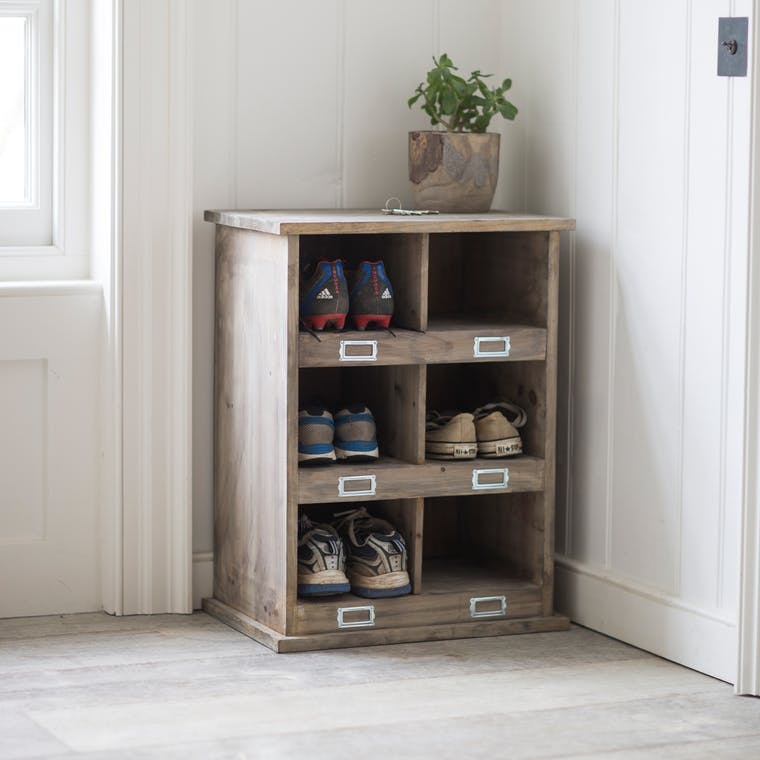 Wooden Shoe Locker in Small, Medium or Large | Garden Trading