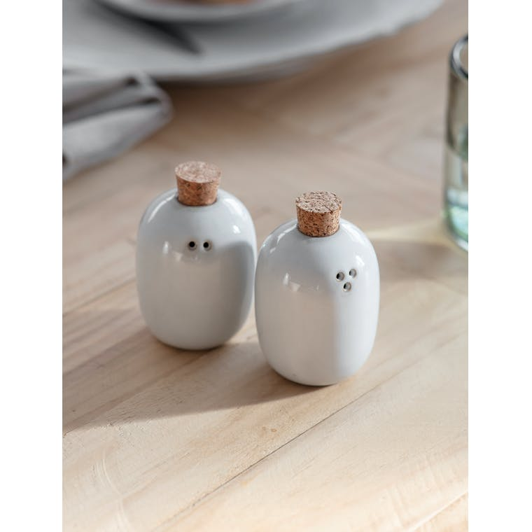 Pair of Ithaca Salt and Pepper Shakers by Garden Trading