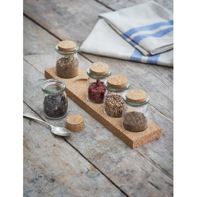 Garden Trading Five Jar Spice Rack