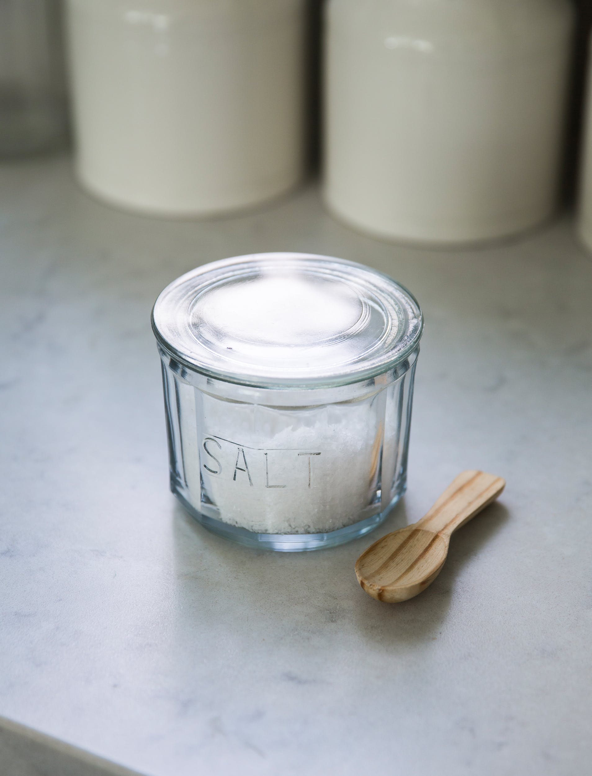 Glass Salt Pot   | Garden Trading