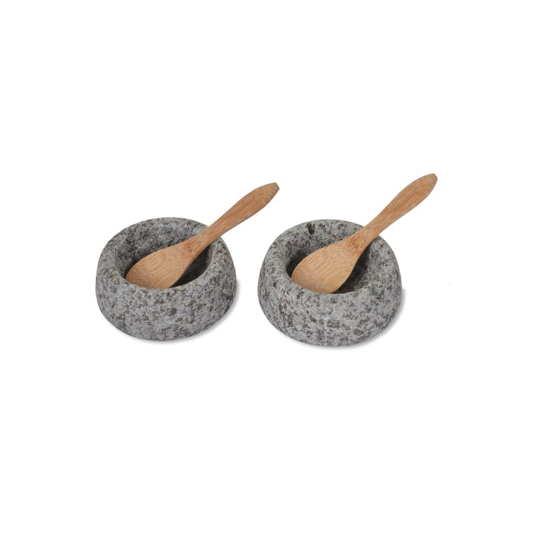 Granite Salt and Pepper Pots | Garden Trading