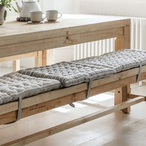 Stripe Bench Seat Pad