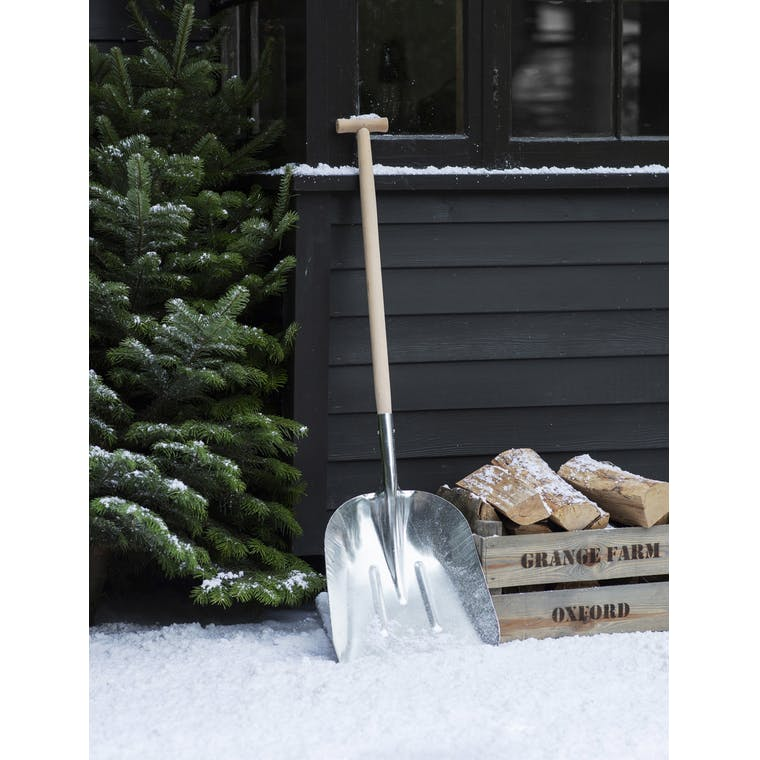 Metal and Wooden Snow Shovel in Large or Small   Garden Trading