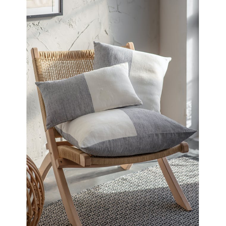 Linen Stripe Cushion in 30x50cm, 45x45cm and 60x60cm | Garden Trading