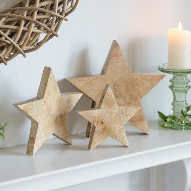 Set of 3 Woodbridge Stars