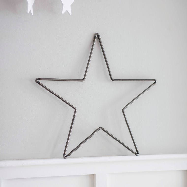 Steel Farringdon Star in Small or Large | Garden Trading