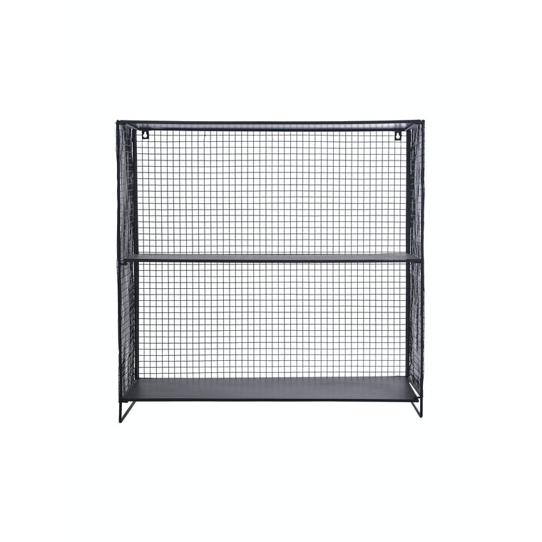 Wire Storage Unit Black in Small or Large - Hornton | Garden Trading