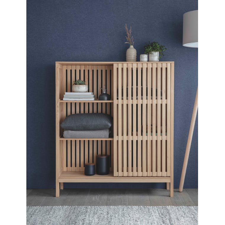 Wooden Linear Storage Unit Large | Garden Trading