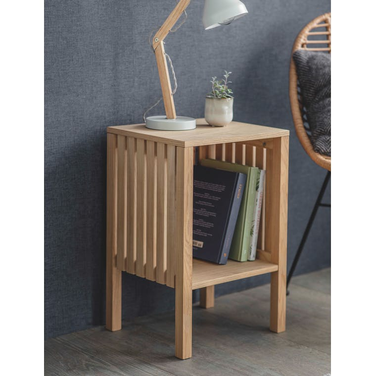 Wooden Linear Side Table | Garden Trading