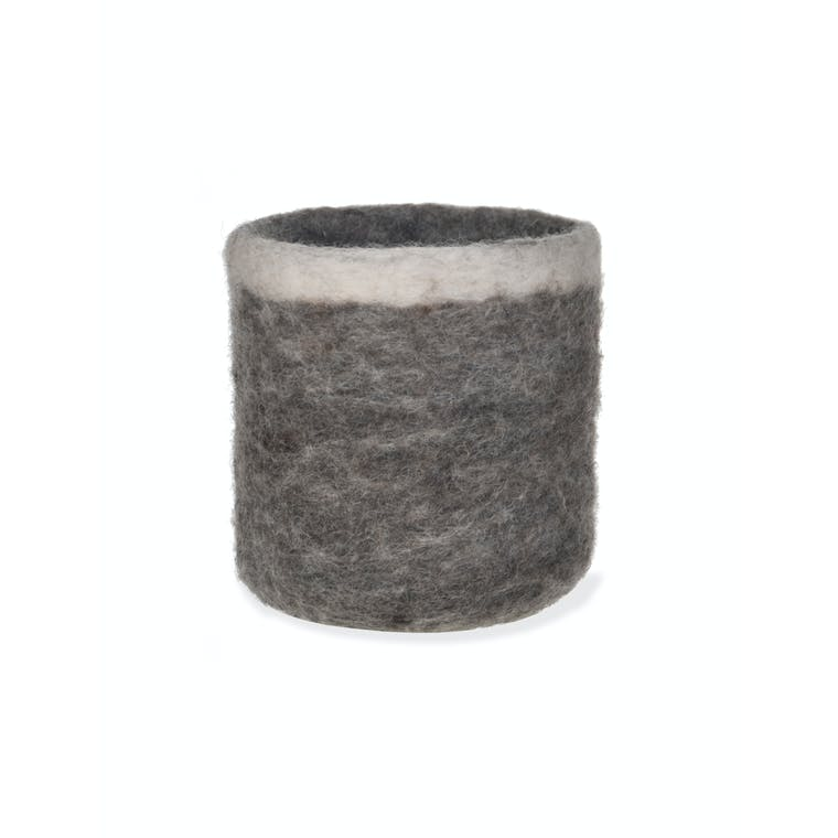 Fairtrade Felt Southwold Pen Pot | Garden Trading