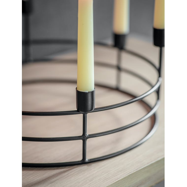 Steel Curzon Table Candle Holder | Garden Trading