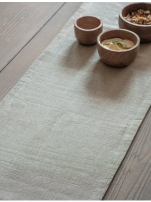 Natural Table Runner