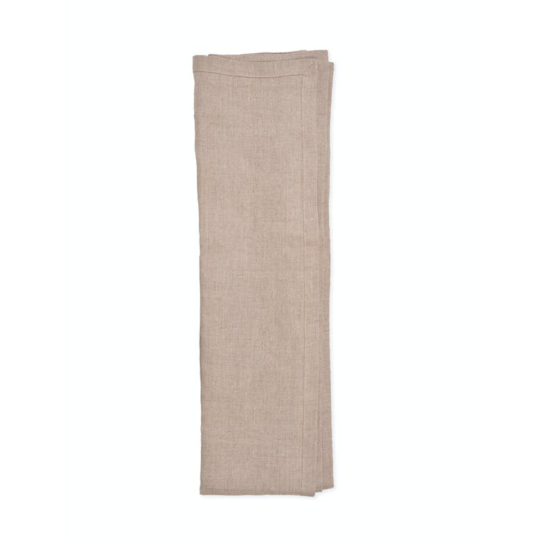 Linen Table Runner in Natural | Garden Trading