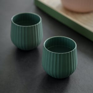 Pair of Linear Tumblers