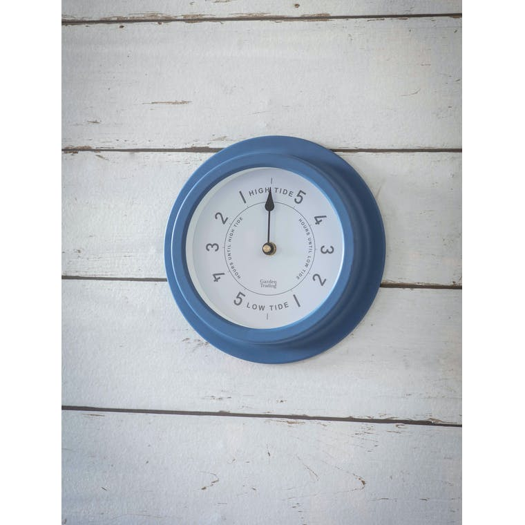 Garden Trading Narbeth Tide Clock in Lulworth Blue