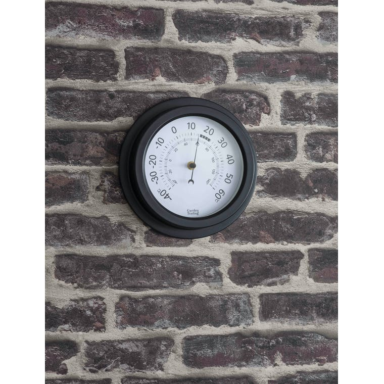 Garden Trading Tenby Thermometer in Carbon