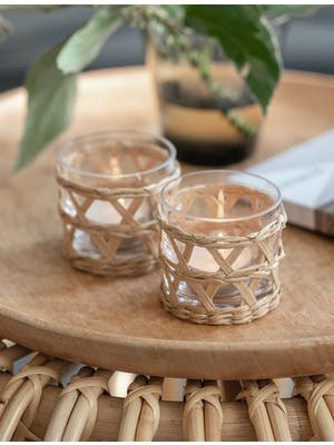 Pair of Portmore Tealight Holders