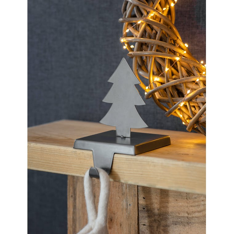 Iron Stocking Holder with Star or Tree | Garden Trading