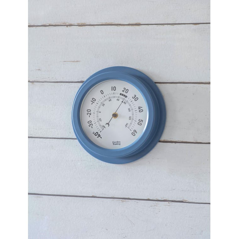 Garden Trading Tenby Thermometer in Lulworth Blue