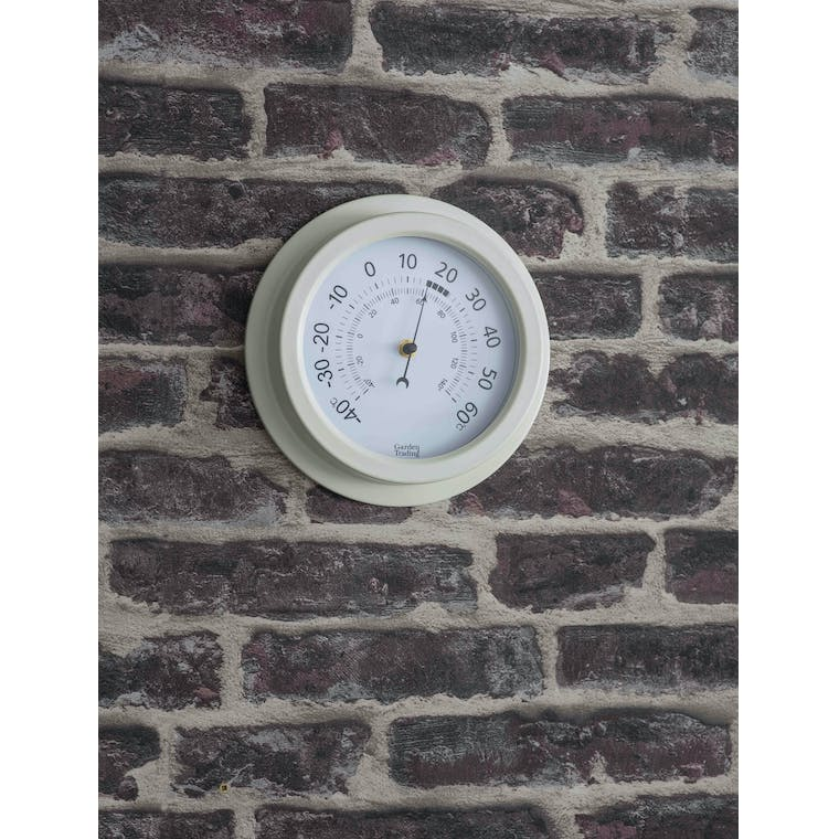 Garden Trading Tenby Thermometer in Lily White