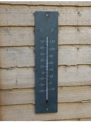 Rectangular Wall Thermometer
